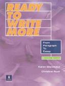 二手書博民逛書店 《Ready to Write More: From Paragraph to Essay》 R2Y ISBN:0130484687│Allyn & Bacon