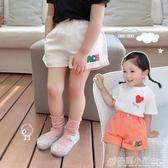女童短褲夏季新款童裝兒童休閒褲中小童寶寶薄款洋氣褲子外穿 格蘭小舖