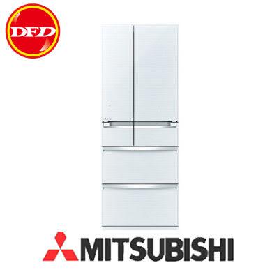 三菱 MITSUBISHI MR-WX61Z-W 6門 鏡面美型 電冰箱 日本原裝 獨家保鮮技術 605L 水晶白 ※運費另計(需加購)