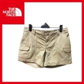 【The North Face 女 抗UV快乾短褲《灰棕》】CFQ3/休閒褲/戶外/快乾