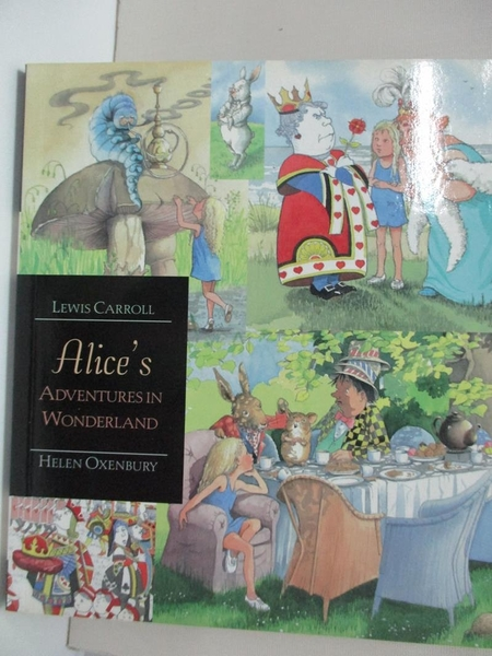 【書寶二手書T1/少年童書_IE7】Alice's Adventures in Wonderland_Lewis Carroll
