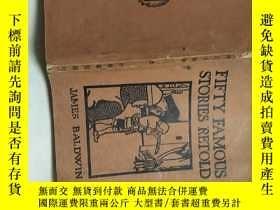 二手書博民逛書店Fifty罕見Famous Stories Retold【泰西五