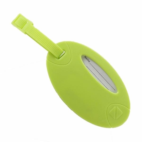 【南紡購物中心】【 Travel Blue 藍旅 旅行配件 】 Neon 螢光行李掛牌(2入/組) 綠色 TB015-GR