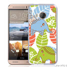 ✿ 3C膜露露 ✿【大象葉子*立體浮雕硬殼】HTC ONE ME手機殼 手機套 保護套 保護殼