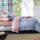 【Alleena】《卡斯多芬》天絲雙人床包涼被四件組