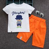 童裝男童夏裝套裝2018新款3夏季5韓版7中大童潮短袖11-13周歲兒童 易貨居