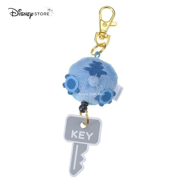 日本 Disney Store 迪士尼商店 限定 史迪奇 屁屁造型 伸縮 鑰匙圈 吊飾