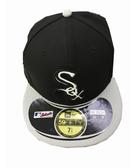 MLB NEW ERA Fitted Cap [5331314-020] 男款 大聯盟 芝加哥 白襪 選手 棒球帽 黑