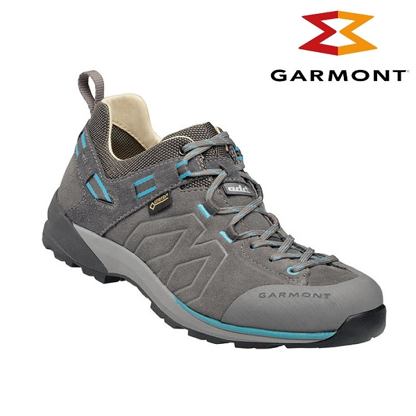 GARMONT 女款 Gore-Tex低筒郊山健走鞋Santiago Low GTX WMS 481241/615 灰色 / 健行鞋、防水、黃金大底