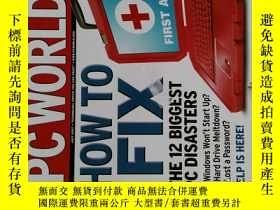 二手書博民逛書店PC罕見Magazine 2007年7月 英文個人電腦雜誌 可用樣板間道具雜誌Y14610