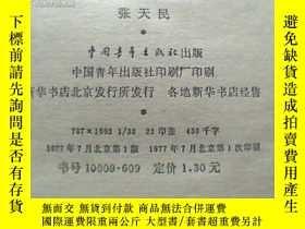 二手書博民逛書店罕見創業(長篇小說)一版一印Y12035 張天民 中國青年出版社
