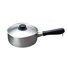 日本 Sori Yanagi 18cm 柳宗理 片手鍋系列 三層鋼 不鏽鋼鍋 小尺寸(含鍋蓋)霧面不鏽鋼款