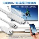 手機轉HDMI無線視訊轉接線 視訊轉接線...