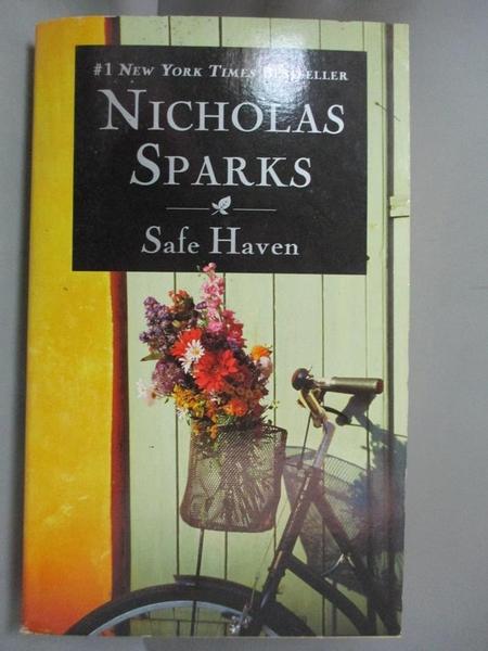 【書寶二手書T1/原文小說_NOJ】Safe Haven_Nicholas Sparks