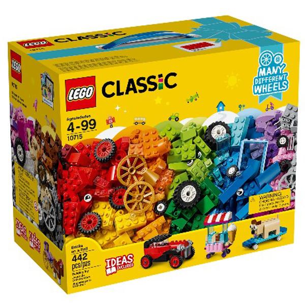 10715【LEGO 樂高積木】經典系列 Classic-經典基本顆粒系列 - 滾動的顆粒