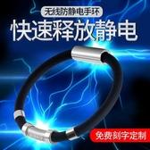 靜電手環 防靜電手環防輻射 放靜電男人體去除靜電無線去靜電女款能量平衡 卡洛琳