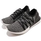 Under Armour UA 慢跑鞋 Speedform 灰 黑 針織鞋面 襪套式設計 運動鞋 女鞋【PUMP306】 3000097107