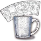 【曼迪】精靈寶可夢-透明玻璃杯-銀色漫畫