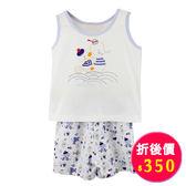 【愛的世界】夏日純棉背心套裝/3歲-台灣製-n3 ★春夏洋裝套裝