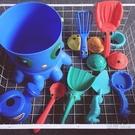外貿嬰幼兒沙灘益智14件套戲水玩沙玩具洗澡挖沙夏天海灘 HM衣櫥秘密
