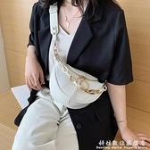 上新小包包女夏天新款潮韓版百搭側背包網紅時尚女士蹦迪胸包 聖誕節免運