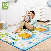 爬爬墊環保加厚XPE嬰兒爬行墊兒童戶外便攜地墊寶寶游戲墊 露露日記