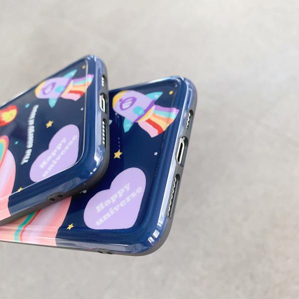 蘋果 iPhone11 Pro Max XS XR XS MAX iX i8+ i7+ 星球火箭 手機殼 全包邊 可掛繩 保護殼