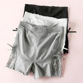 萬聖節狂歡 蕾絲邊高腰安全褲防走光女夏外穿三分保險褲收腹提臀大碼打底短褲 桃園百貨