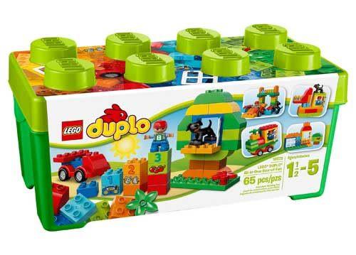 樂高 LEGO DUPLO 得寶多合一樂趣箱 10572 TOYeGO 玩具e哥