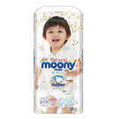 Natural Moony 日本頂級版紙尿褲 褲型 XL號 -128片(32片X4包)