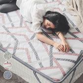 薄床墊 雙人5x6.2尺【3色任選】日式床墊 羊毛 四季用 睡墊 客廳墊 翔仔居家