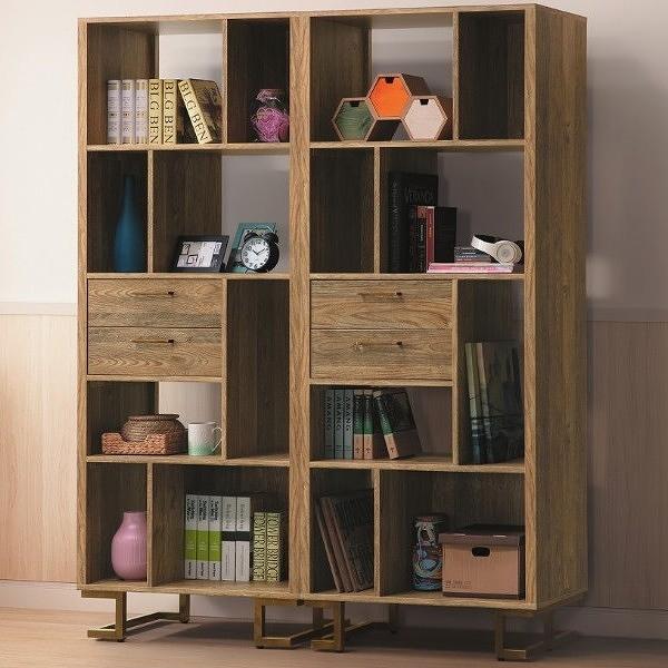 書櫃 書櫥 PK-486-11 希爾頓5.2尺書櫃【大眾家居舘】