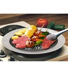 金德恩 台灣製造 外銷日本 不沾導油設計超導熱不鏽鋼燒烤盤