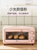 烤箱烤箱家用小型雙層小烤箱烘焙多功能全自動電烤箱迷你迷小型機 BASIC HOME LX