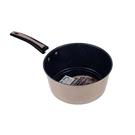 【百樂龍】韓式麥飯石鐵鍋 湯鍋 奶鍋 粉彩色 24cm