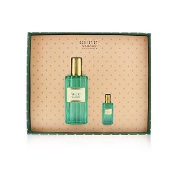 SW Gucci-147 Memoire D'Une Odeur Coffret: Eau De Toilette Spray 60ml/2oz + Eau De Toilette 5ml/0.16oz
