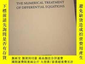 二手書博民逛書店THE罕見NUMERlCAL TREATMENT OF DlFFERNTlAL EQUATlONS.Y1669