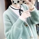 毛衣外套女裝秋季年新款寬鬆外穿雪尼爾上衣網紅百搭針織開衫 雙十二全館免運