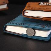 復古密碼本帶鎖筆記本日記本加密創意學生記事本文具筆記本子【全館鉅惠85折】