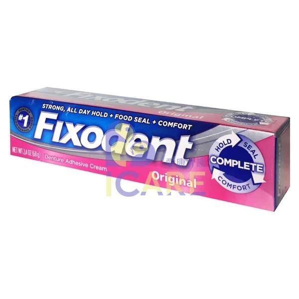美國 Fixodent 假牙黏著劑 68G/條【愛康介護】