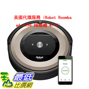 美國代購服務 iRobot Roomba e6 6198 掃地機 Wi-Fi Connected Robot Vacuum $100