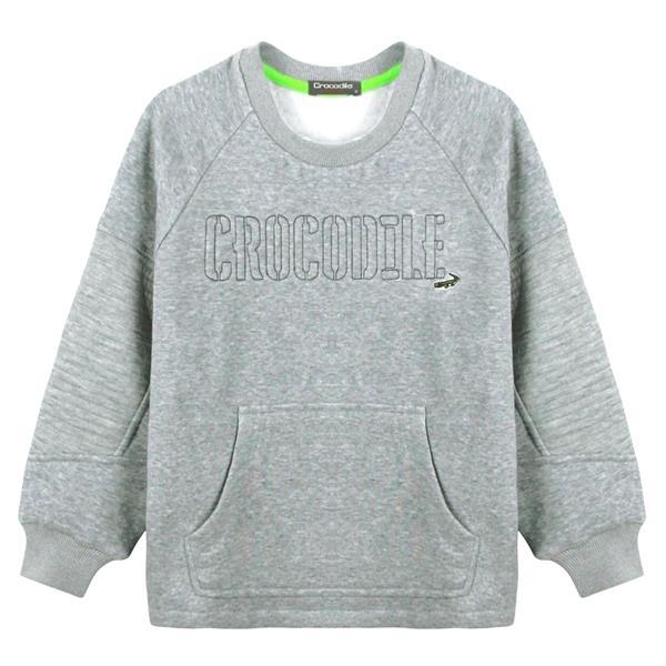 『小鱷魚童裝』繡英文字T恤(08號~18號)534401