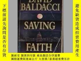 二手書博民逛書店英文原版罕見Saving Faith by David Bald