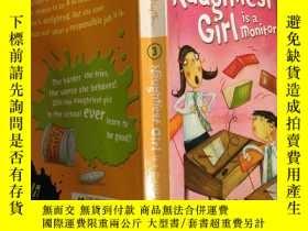 二手書博民逛書店the罕見naughtiest girl is a monitor 最調皮的女孩是班長Y200392