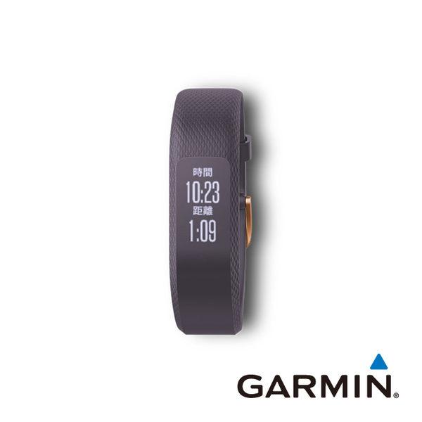 GARMIN vivosmart® 3 智慧健身心率手環-神秘紫(小)