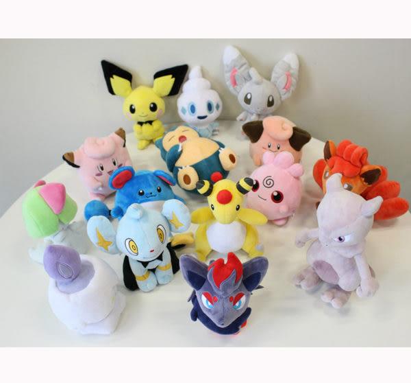 索羅亞 絨毛玩偶 Pokemon 寶可夢 神奇寶貝 日本正品 S號娃娃 該該貝比日本精品 ☆