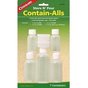 【速捷戶外露營】COGHLANS #8525 旅行瓶罐組 CONTAIN-ALLS