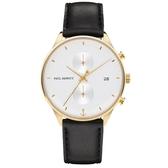 【台南 時代鐘錶 PAUL HEWITT】PH-C-G-W-2M 德國工藝Watch Chrono Line 簡約風格腕錶
