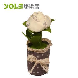【YOLE悠樂居】絕色-花藝造型香炭包(2入) #1035054