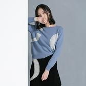 羊毛針織衫-圓領純色套頭寬鬆休閒女毛衣3色73uj1【巴黎精品】